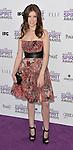 Anna Kendrick at the 2012 Film Independent Spirit Awards held at Santa Monica Beach, CA. February 25, 2012