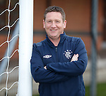 Alan Boyd youth coach at Rangers