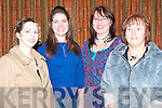 QUIZ NIGHT: Enjoying a great time at Na Gaeil Ladies table quiz at the Na Gaeil clubhouse on Friday l-r: Ruth Keane (Oakpark), Muireann Rya (Cavan), Tania O'Sullivan (Cul Doire) and Mary Diggin (Causeway).   Copyright Kerry's Eye 2008