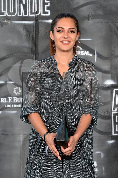 BERLIN, ALEMANHA, 17.07.2017 - PREMIERE-BERLIN - Nilam Farooq durante premiere de Atomic Blonde em Berlin na Alemanha ontem segunda-feira, 17. (Foto: Timm/Brazil Photo Press)