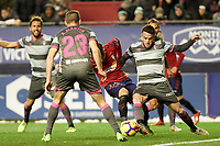 Ruben García (midfield; CA Osasuna) during the Spanish football of La Liga 123, match between CA Osasuna and  Granada CF at the Sadar stadium, in Pamplona (Navarra), Spain, on Sunday, February 3, 2019.