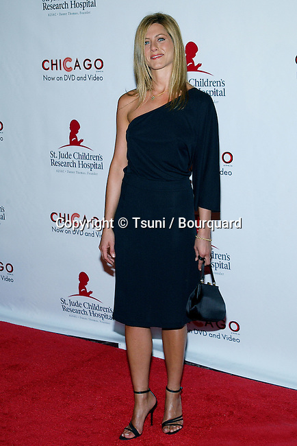 "Jennifer Aniston arriving at the 2nd Annual ""Runway for Life, Celebrity Fashion Show"" benefiting the St Jude Children Hospital at the Beverly Hilton In Los Angeles. August 19, 2003."