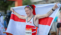 England's Tom Bosworth takes silver in the means 20km race walk, Commonwealth Games, Gold Coast, Australia. Sunday 8 April, 2018. Copyright photo: John Cowpland / www.photosport.nz