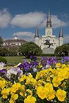 April 15, 2006 - St. Louis Cathedral on Jackson Square, New Orleans, LA