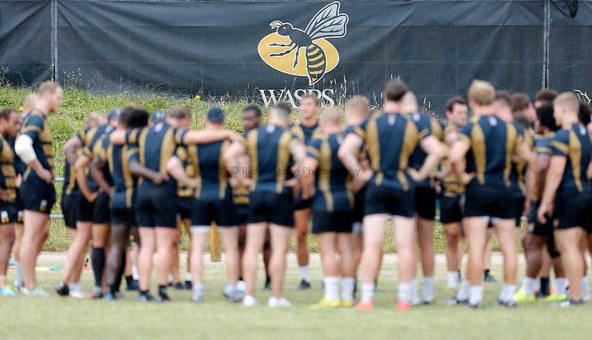 Photo: Richard Lane Photography. Wasps Training. 10/07/2017. Wasps training.