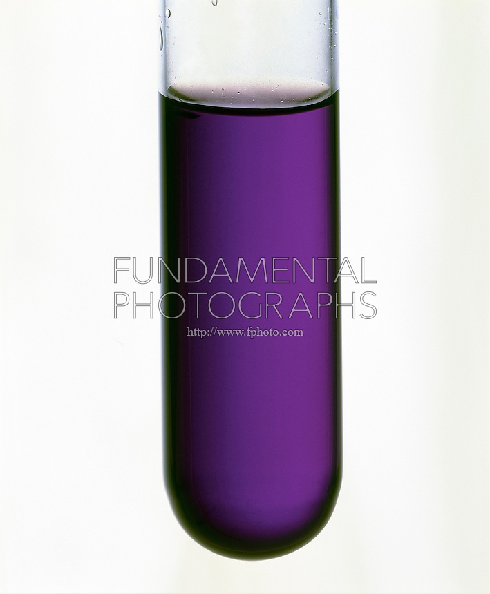 TITANIUM TRICHLORIDE SOLUTION<br /> The Ti(H2O)6 3+ Ion Appears Purple In Color<br /> TiCl3(aq) kept under argon gas to prevent contact with moisture in air.