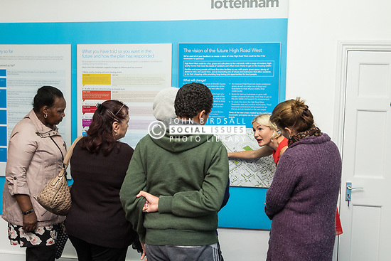 London Borough of Haringey's public consultation for the regeneration of the High Road West area of Tottenham, 2014