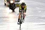 Sarah Roy (AUS) Mitchelton-Scott in action during Stage 1 of the Ceratizit Madrid Challenge by La Vuelta 2019 running 9.3km individual time trial around Boadilla del Monte, Spain. 14th September 2019.<br /> Picture: Luis Angel Gomez/Photogomezsport | Cyclefile<br /> <br /> All photos usage must carry mandatory copyright credit (© Cyclefile | Luis Angel Gomez/Photogomezsport)