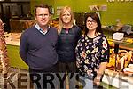 Mace Kelllihers/Kerrys Eye competition, Colm Kelliher, Eileen Curtin and Dagmar Kolesarova.