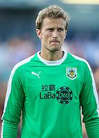 Burnley's Anders Lindegaard<br /> <br /> Photographer Alex Dodd/CameraSport<br /> <br /> UEFA Europa League - Europa League Qualifying Round 2 2nd Leg - Burnley v Aberdeen - Thursday 2nd August 2018 - Turf Moor - Burnley<br />  <br /> World Copyright © 2018 CameraSport. All rights reserved. 43 Linden Ave. Countesthorpe. Leicester. England. LE8 5PG - Tel: +44 (0) 116 277 4147 - admin@camerasport.com - www.camerasport.com