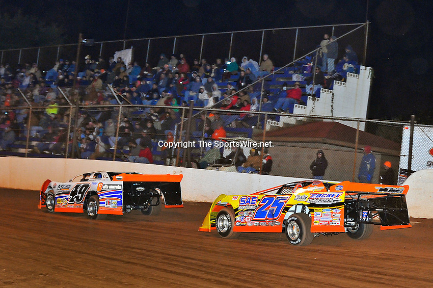 Oct 15, 2010; 9:24:53 PM;Mineral Wells,WV ., USA; The 30th Annual Dirt Track World Championship dirt late models 50,000-to-win event at the West Virginia Motor Speedway.  Mandatory Credit: (thesportswire.net)