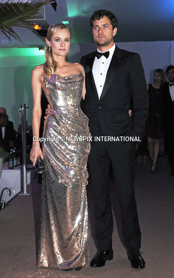 DIANE KRUGER AND JOSHUA JACKSON SPLIT<br /> after 10 years together but have decided to stay friends.<br /> The news was confirmed by reps for both Kruger and Jackson<br /> <br /> Cannes,20.05.2012: DIANE KRUGER AND JOSHUA JACKSON<br /> at the 65th Cannes International Film Festival.<br /> Mandatory Credit Photos: &copy;Traverso/NEWSPIX INTERNATIONAL<br /> <br /> **ALL FEES PAYABLE TO: &quot;NEWSPIX INTERNATIONAL&quot;**<br /> <br /> PHOTO CREDIT MANDATORY!!: NEWSPIX INTERNATIONAL(Failure to credit will incur a surcharge of 100% of reproduction fees)<br /> <br /> IMMEDIATE CONFIRMATION OF USAGE REQUIRED:<br /> Newspix International, 31 Chinnery Hill, Bishop's Stortford, ENGLAND CM23 3PS<br /> Tel:+441279 324672  ; Fax: +441279656877<br /> Mobile:  0777568 1153<br /> e-mail: info@newspixinternational.co.uk