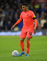 Huddersfield Town's Karlan Grant during the game<br /> <br /> Photographer Ian Cook/CameraSport<br /> <br /> The EFL Sky Bet Championship - Cardiff City v Huddersfield Town - Wednesday August 21st 2019 - Cardiff City Stadium - Cardiff<br /> <br /> World Copyright © 2019 CameraSport. All rights reserved. 43 Linden Ave. Countesthorpe. Leicester. England. LE8 5PG - Tel: +44 (0) 116 277 4147 - admin@camerasport.com - www.camerasport.com