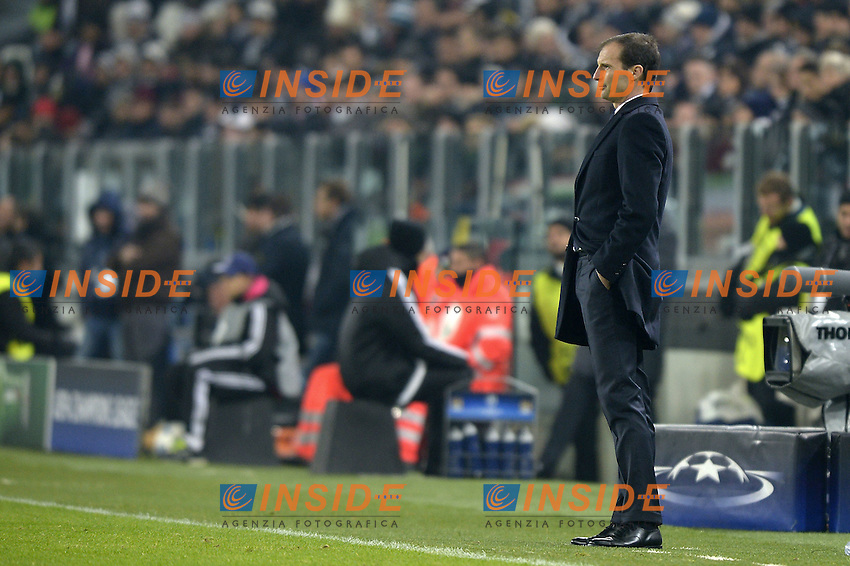 Massimiliano Allegri,<br /> Torino 25-11-2015 Juventus Stadium Football Calcio Champions League 2015/2016 Group Stage Group D Juventus - Manchester City Foto Filippo Alfero / Insidefoto