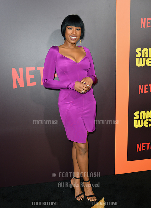 Jennifer Hudson at the premiere for &quot;Sandy Wexler&quot; at The Cinerama Dome. Los Angeles, USA 06 April  2017<br /> Picture: Paul Smith/Featureflash/SilverHub 0208 004 5359 sales@silverhubmedia.com