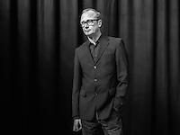 Austrian Artist Heimo Zobernig poses for a portrait at Kunsthaus Bregenz. Zobernig represented Austria at the 2015 Venice Biennale.