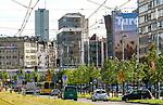 Centrum miasta, Katowice, Polska<br /> The city centre, Katowice, Poland