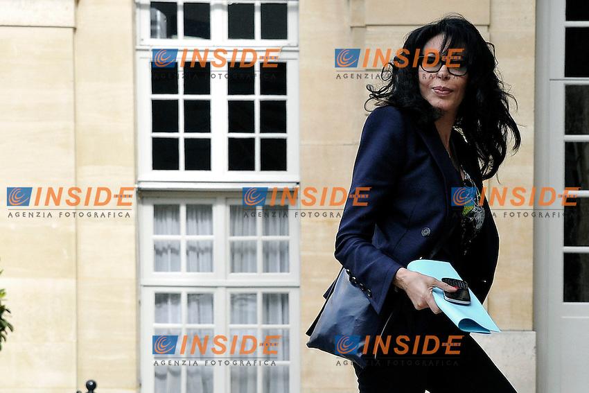 Yamina Benguigui.Parigi 17/06/2012 Meeting a Matignon per le elezioni legislative .Foto Insidefoto /Gerard Roussel / Panoramic.ITALY ONLY.