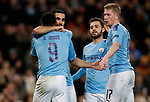 Ilkay Gundogan of Manchester City celebrates his goal against Shakhtar Donetsk with team mates during the UEFA Champions League match at the Etihad Stadium, Manchester. Picture date: 26th November 2019. Picture credit should read: Darren Staples/Sportimage