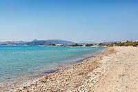 The beach Bonatsa in Kimolos, Greece