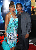 "LOS ANGELES, CA, USA - APRIL 16: Tamara Mitchell, Wesley Jonathan at the Los Angeles Premiere Of Open Road Films' ""A Haunted House 2"" held at Regal Cinemas L.A. Live on April 16, 2014 in Los Angeles, California, United States. (Photo by Xavier Collin/Celebrity Monitor)"