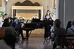 Nella Chiesa di Santa Maria a Gradillo,<br /> Conservatorio di Musica 'S. Pietro a Majella' di Napoli<br /> La liederistica romantica<br /> Concerto a cura del M° Valeria Lambiase<br /> Chiara Cimmino, Virginia Magliacano, soprano<br /> Antonia Elide Facciuto, mezzosoprano <br /> Armando Napoletano, baritono<br /> Pasquale Petrillo, basso<br /> Adriana Mendella, clarinetto<br /> Michele Neri, pianoforte<br /> <br /> Musiche di Schubert, Schumann, Wieck, Liszt, Brahms