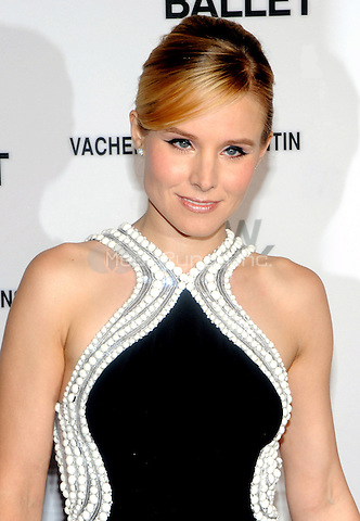 New York, NY- May 8: Actress Kristen Bell attends the 2014 New York City Ballet Spring Gala at the David H. Koch Theater at Lincoln Center on May 8, 2014 in New York City.  Credit: John Palmer/MediaPunch