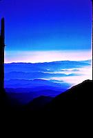 EAST OVER THE LIL' SAN BERNARDINO MOUNTAINS