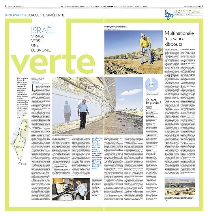 La Presse, Canada - October 1, 2010