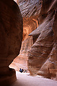 A PIECE OF JORDAN - TRAVEL FEATURE. SCENES FROM THE ANCIENT NABATEAN SITE OF PETRA, JORDAN.THE SIQ.  PHOTO BY CLARE KENDALL. 07971 477316.