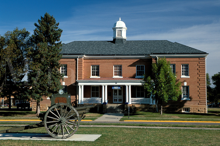 Fort Meade Cavalry Museum exhibits memorabilia from the 1878 cavalry post.
