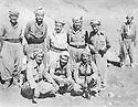 Iraq 1978 <br />  In Nawzang, standing 3rd from left, Dr. Mahmoud Osman, Jalal Talabani and Mullazem Omar Abdallah  <br /> Irak 1978 <br /> A Nawzang, debout 3eme a partir de la gauche, Dr. Mahmoud Osman, Jalal Talabani et Mullazem Mahmoud Osman