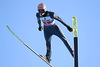 1st January 2020, Olympiaschanze, Garmisch Partenkirchen, Germany, FIS World cup Ski Jumping, 4-Hills competition; Karl Geiger takes 2nd place in the second jumping competition