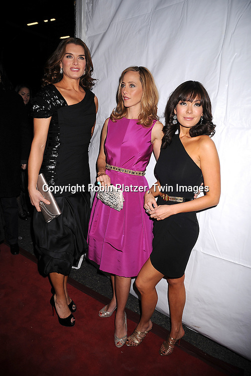 "Brooke Shields, Kim Raver and Lindsay Price.at The ""Lipstick Jungle"" party for the premiere of the new NBC Show at Saks Fifth Avenue on January 31, 2008 in .New York City. .Robin Platzer, Twin Images"