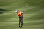 Justin Walters of South Africa in action during the 58th UBS Hong Kong Golf Open as part of the European Tour on 08 December 2016, at the Hong Kong Golf Club, Fanling, Hong Kong, China. Photo by Vivek Prakash / Power Sport Images