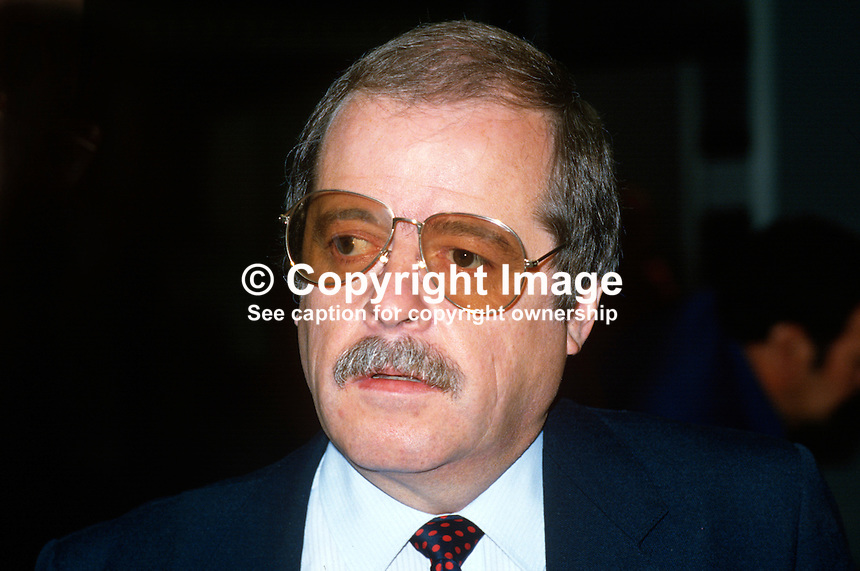 Peter Snape, MP, Labour Party, UK, 19870904PS..Copyright Image from Victor Patterson, 54 Dorchester Park, Belfast, UK, BT9 6RJ..Tel: +44 28 9066 1296.Mob: +44 7802 353836.Voicemail +44 20 8816 7153.Skype: victorpattersonbelfast.Email: victorpatterson@me.com.Email: victorpatterson@ireland.com (back-up)..IMPORTANT: If you wish to use this image or any other of my images please go to www.victorpatterson.com and click on the Terms & Conditions. Then contact me by email or phone with the reference number(s) of the image(s) concerned.