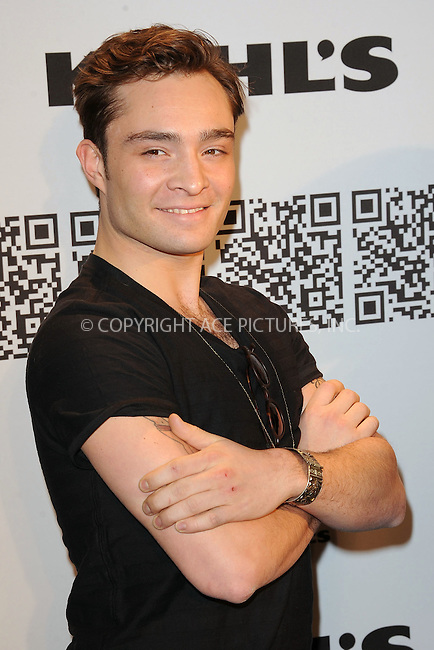 WWW.ACEPIXS.COM . . . . . .February 10, 2012...New York City....Ed Westwick at the Rock & Republic for Kohl's Fashion Show on February 10, 2012  in New York City ....Please byline: KRISTIN CALLAHAN - ACEPIXS.COM.. . . . . . ..Ace Pictures, Inc: ..tel: (212) 243 8787 or (646) 769 0430..e-mail: info@acepixs.com..web: http://www.acepixs.com .