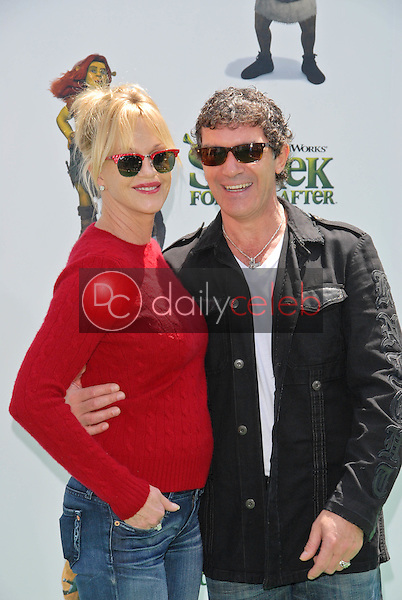 Melanie Griffith and Antonio Banderas<br />