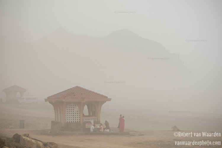 Mist moves in on Al Mughsayl, west of Salalah. Oman - National Geographic Traveler