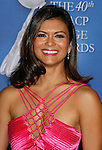 LOS ANGELES, CA. - February 12: Actress Nia Peeples arrives at the 40th NAACP Image Awards at the Shrine Auditorium on February 12, 2009 in Los Angeles, California.