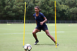 CARY, NC - JULY 27: Imani Dorsey. The North Carolina Courage held a training session on July 27, 2017, at WakeMed Soccer Park Field 7 in Cary, NC.