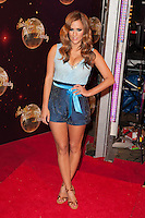 Caroline Flack at the Strictly Come Dancing Launch, London, 02/09/2014 Picture by: Alexandra Glen / Featureflash