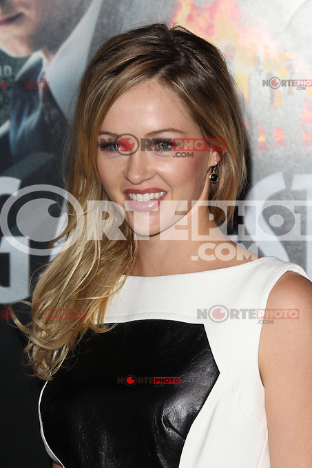 HOLLYWOOD, CA - JANUARY 07:  Ambyr Childers at the Gangster Squad film premiere at Grauman's Chinese Theatre on January 7, 2013 in Hollywood, California. Credit: mpi27/MediaPunch Inc. /NortePhoto /NortePhoto /NortePhoto /NortePhoto