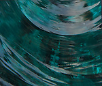 Blue Glass Abstract