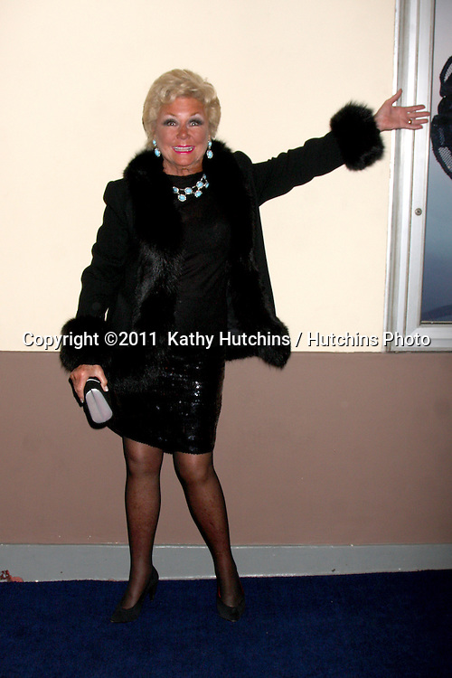 """LOS ANGELES - FEB 17:  Mitzi Gaynor arrives at the Opening of """"Ethel Merman's Broadway"""" at El Portal Theater on February 17, 2011 in No. Hollywood, CA"""