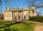 Scampston Hall, Yorkshire, England, UK Regency country house estate