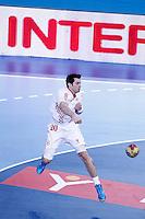 Croatia's Damir Bicanic during 23rd Men's Handball World Championship preliminary round match.January 14,2013. (ALTERPHOTOS/Acero) 7NortePhoto
