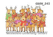 Kate, CHRISTMAS ANIMALS, WEIHNACHTEN TIERE, NAVIDAD ANIMALES, paintings+++++Christmas page 96,GBKM245,#xa# ,sticker,stickers