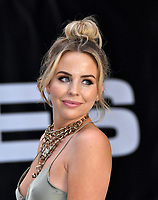 Lydia Rose Bright<br /> King of Thieves world film premiere at Vue West End cinema, London, England on 12 September 2018.<br /> CAP/JOR<br /> &copy;JOR/Capital Pictures