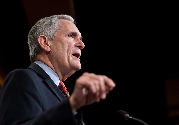 UNITED STATES - FEBRUARY 28: Rep. Lloyd Doggett, D-Texas, speaks during a news conference on legislation that will allow for drug importation while maintaining important safety standards on Tuesday, Feb. 28, 2017. (Photo By Bill Clark/CQ Roll Call)
